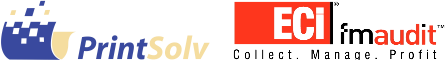PrintSolv and FMAudit Logos