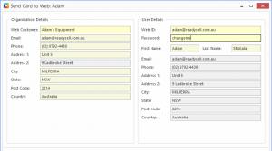 Readysell 8.25: New integration to streamline web customer onboarding
