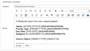 Readysell 8.28: Make effective use of action items with action rule templating
