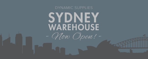 Dynamic Supplies Sydney Warehouse Now Open